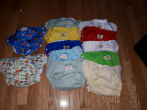 Amp diaper covers and hemp liners