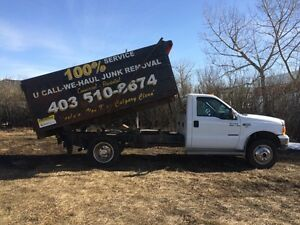 Junk and garbage removal 403-510-8674