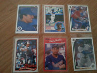 Various Baseball Cards