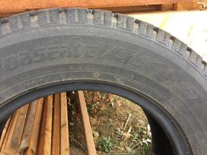 Winter tires toyo observe gsi-5