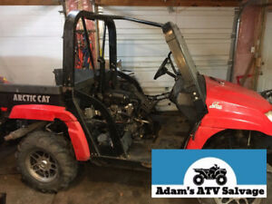 Parting Out - 2008 Arctic Cat Prowler 650