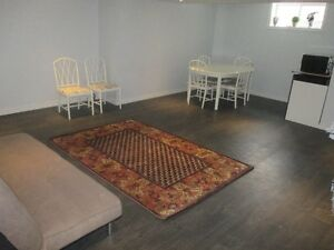furnished basement  all inclusive in Waterloo VERY close to UW