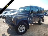 2010 59 LAND ROVER DEFENDER 110 2.4 TDCI COUNTY UTILITY WAGON DCB 5D 122 BHP DIE