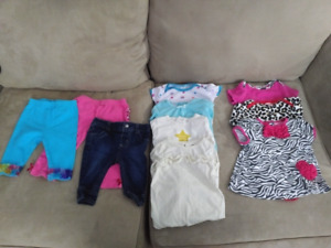 Lot of 6 month baby clothes