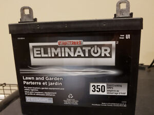 Eliminator Lawn and Garden Tractors Battery