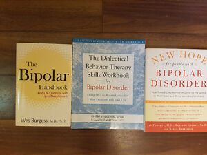 Bipolar self help and also anxiety books etc..