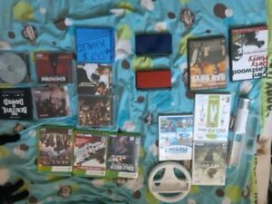 Games, music, DS's,  take all for 120 OBO or pick a d choose!