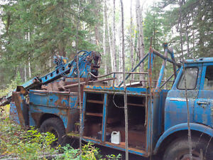 Line Truck - Auger System and Pole Setter Williams Lake Cariboo Area image 3