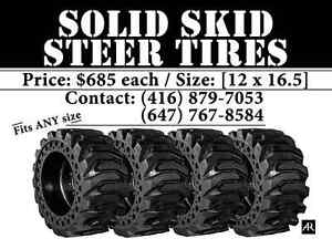 Solid Skid Steer Tires FOR SALE
