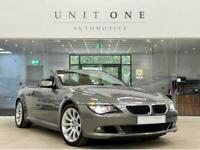 2008 BMW 6 Series 635D Edition Sport Convertible Diesel Automatic