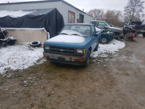 1992 Chevy s10 with a 2.2l diesel swap