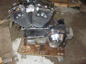 Twin Cam 88 motor and five speed transmission