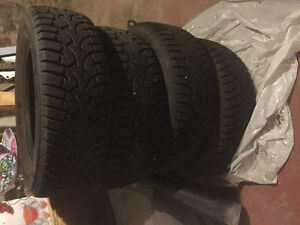 205/65R/15 like new winter tires !
