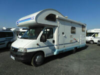 ACE NOVELLA ROMA 6 BERTH MOTORHOME WITH GARAGE