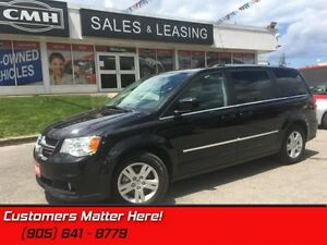 2016 Dodge Grand Caravan Crew  LEATHER, HEATED SEATS, REAR CAMER