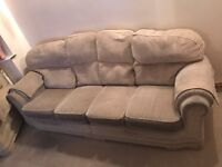 4 Seat Sofa & Single Sofa GOOD CONDITION