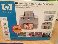 Hp Photosmart A433 Portable Photo Studio