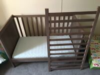 Cot and mattress! Good condition!