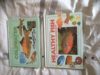 2 X fish keeping books. Very helpful