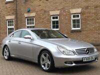 MERCEDES CLS 2005 Auto 52500 Petrol Silver CLS350 Petrol Automatic in Silver