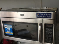 New Maytag Microwave - Over the range