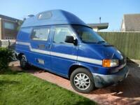 Volkswagen T4, 4 seat belts, 4 berth, swivel seat, campervan for sale