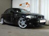 bmw 125i m sport 2dr step auto coupe black 2008 automatic 3.0 fsh 18 alloys