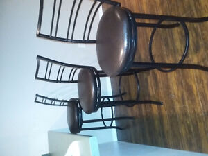 Bar Stools - Barely Used