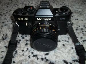 Mamiya ZE-2 35 mm Film Camera