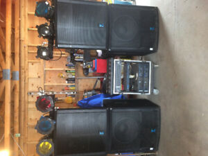 REDUCED FOR QUICK SALE - Yorkville Elite Stereo Sound System