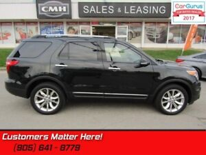 2014 Ford Explorer XLT  LEATHER, ROOF, NAV,  HTD-SEATS, CAMERA,