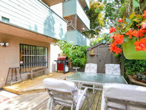 Amazing apartment with Large Patio 1516 Charles St