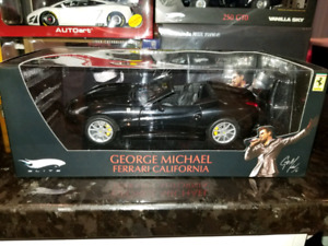 1:18 Diecast Hot Wheels Elite Ferrari California George Michael
