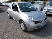 Nissan Micra 1.2 S (silver) 2005