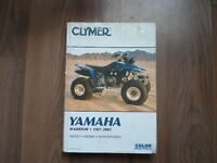Yamaha Warrior Manual 1987-2003