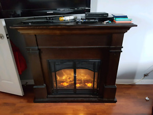 Fireplace for sale with remote