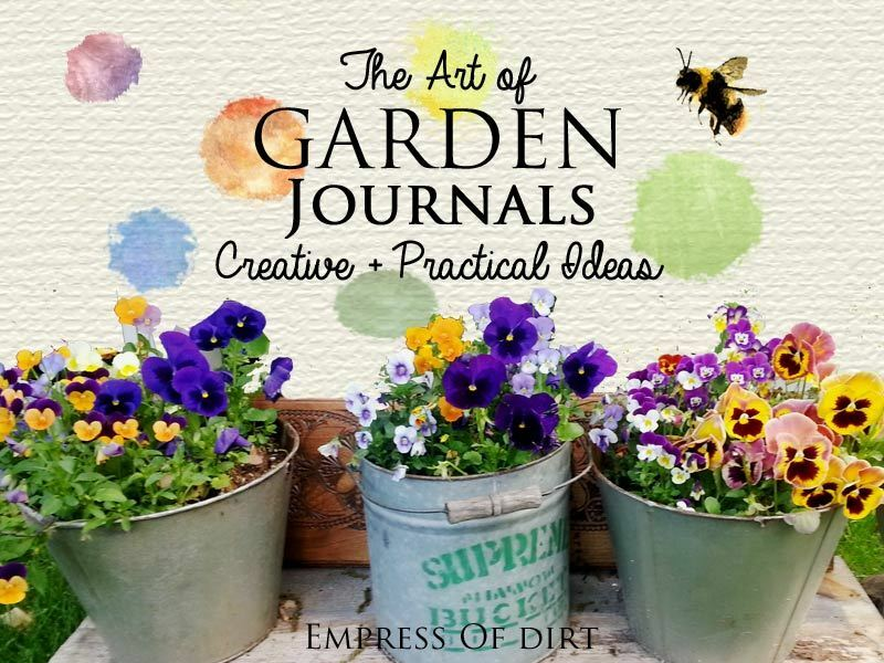 Creative Practical Garden Journal Ideas eBay