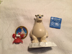 Figurine Club Pingouin - ours et crabe