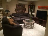 Spacious Luxurious Furnished Basement Apartment