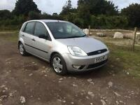 54 REG FORD FIESTA FLAME ONLY 60000 MILES WITH HISTORY ONE PREVIOUS OWNER