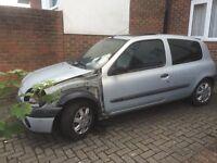 Renault Clio door alternator starter motor, tailgate/boot wheels