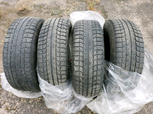 205/70 R15 Michelin X-Ice Winter Tires