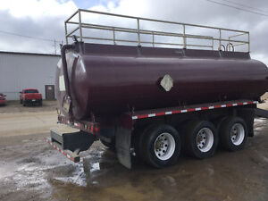 2005 tri axle tanker trailer Hamms Pup tank air ride