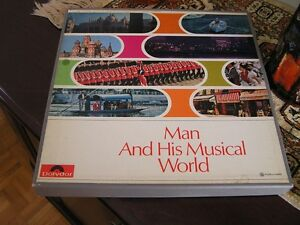 Expo 67-Man & His Musical World- 8 records from the World's Fair West Island Greater Montréal image 1