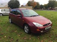 Ford Focus 1.8i Zetec + New Cambelt and 10 Stumps and Long MOT