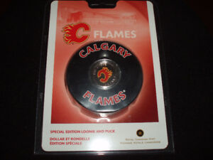 2008 Flames  Special Edition Loonie and Puck