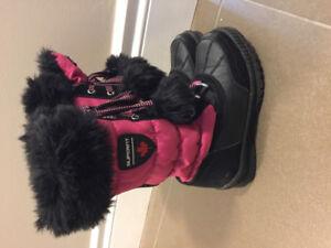 Smartfit girls winter boots - size 12
