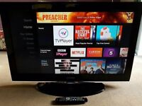 "32"" Samsung HD TV - hdmis, USB , freeview"