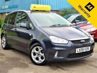 2009 FORD C-MAX 2.0 ZETEC 145 BHP! P/X WELCOME! AUTOMATIC+AUX+SENSORS+FULL S-HIS