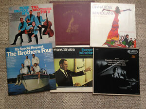 Vinyl from 50's, 60's + 70's, individual or entire lot for sale
